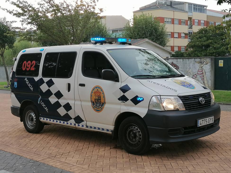 Foto de archivo del vehículo de Atestados de la Policía Local de Narón