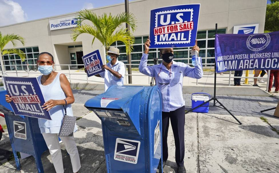 Voto por correo en Estados Unidos