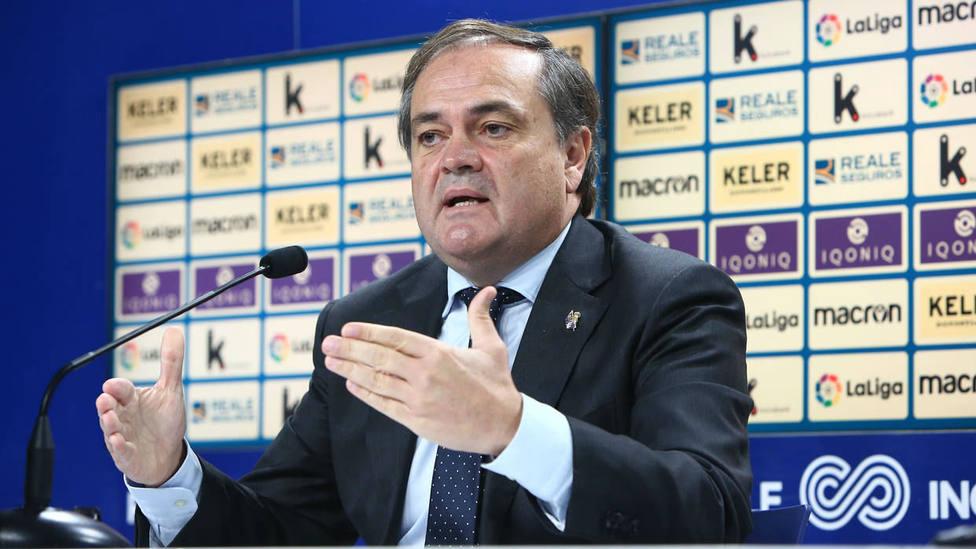 Jokin Aperribay en sala de prensa