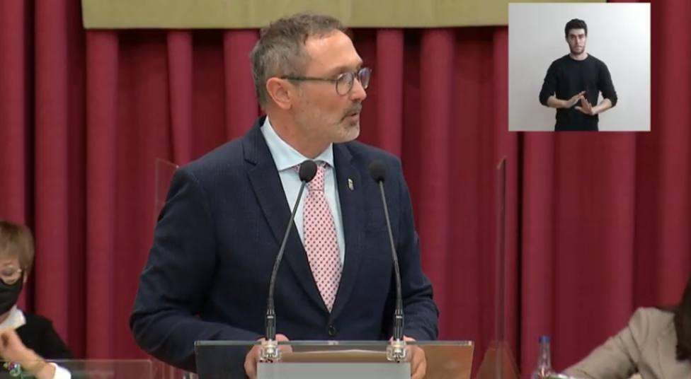 El alcalde de Logroño no encuentra dudas en sus socios de investidura (Podemos y PR+)