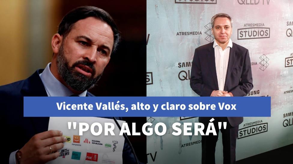 Vicente Vallés habla por primera vez alto y claro sobre Vox: Por algo será