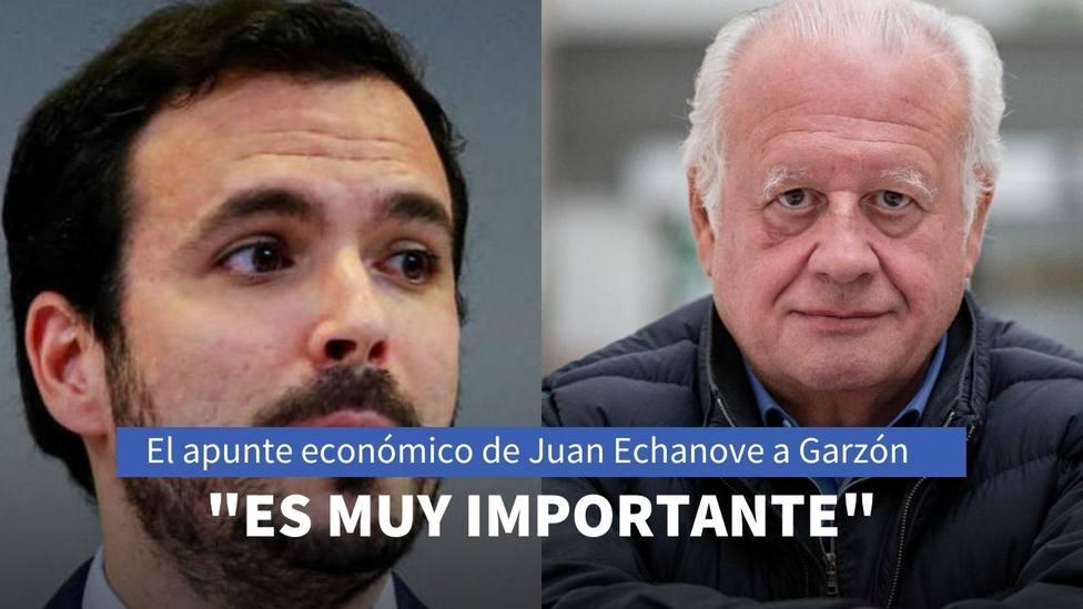 El apunte económico de Juan Echanove a Alberto Garzón en La sexta para superar la crisis de la covid-19
