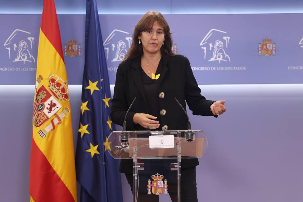 Borràs replica a ERC: no es posible una negociación bilateral sin presidente en Cataluña