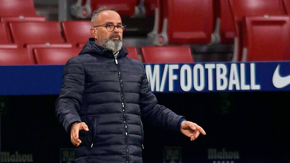 Álvaro Cervera, entrenador del Cádiz. CORDONPRESS