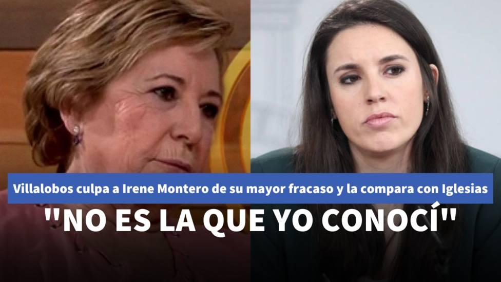 Celia Villalobos e Irene Montero