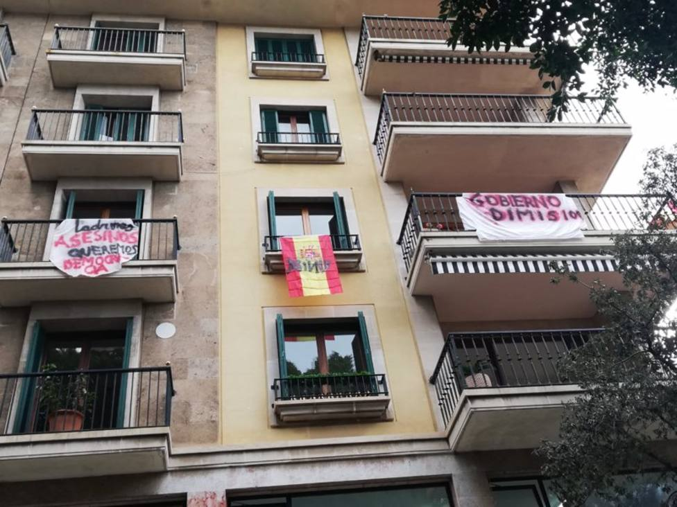 Pancartas balcones