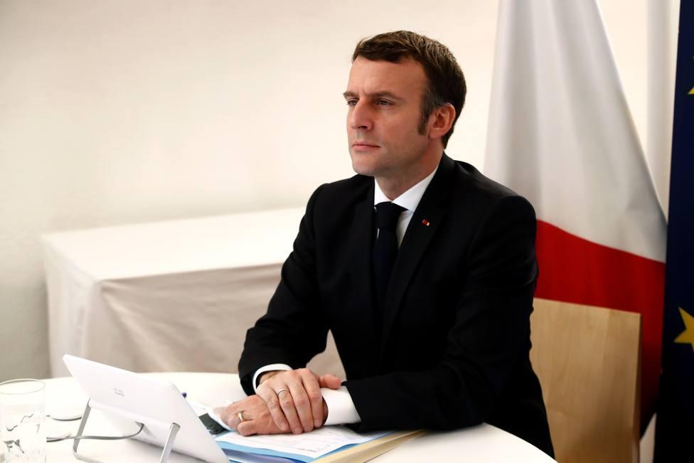 Macron condena el asalto al Capitolio apelando a la idea universal del respeto a las elecciones