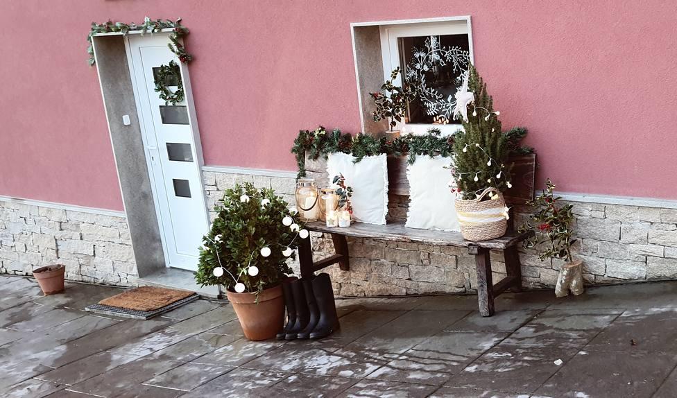 Una de las decoraciones de Navidad premiada en As Pontes. FOTO: Concello As Pontes