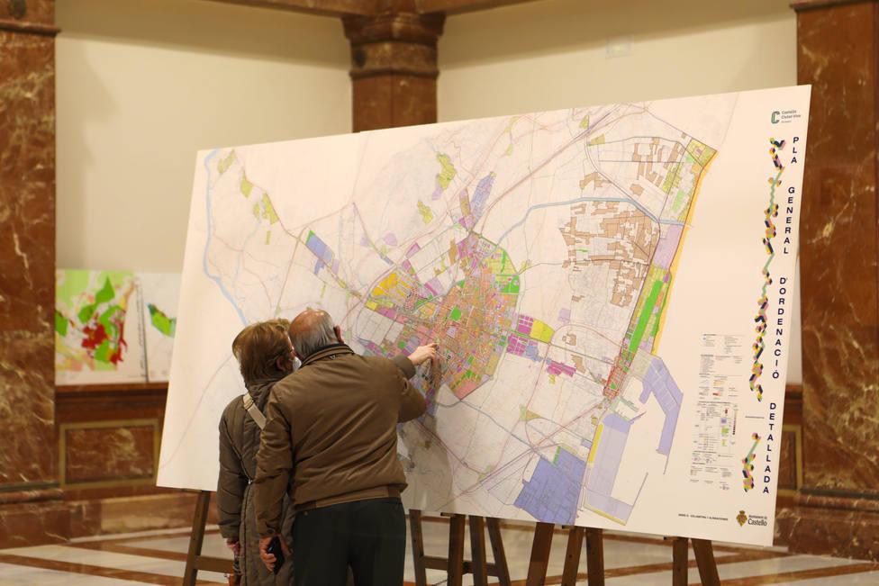 Castellón abre en el Menador la segunda exposición pública del nuevo PGOU
