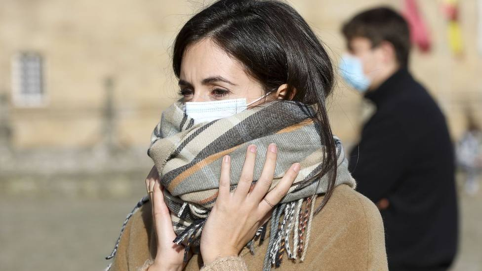 Mujer frio