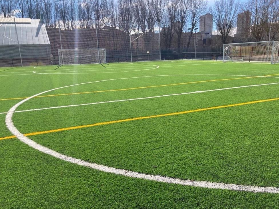 Burgos estrena nuevo campo de fútbol 7 en San Juan de los Lagos tras una inversión de 271.000 euros