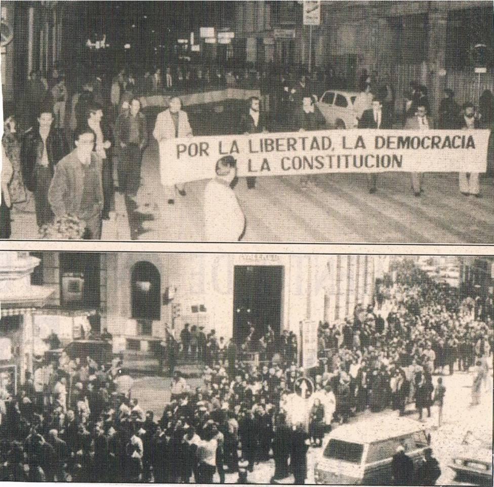 La manifestación celebrada al día siguiente en Castellón concluyo con el manifiesto pronunciado por Juan Soler