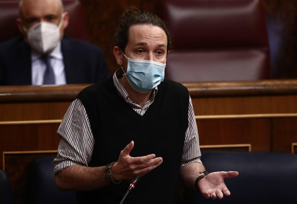 Iglesias admite que la coalicion con el PSOE puede llegar a ser un terreno de combate político