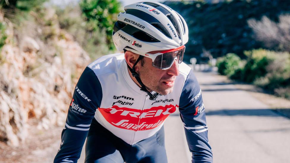 Vicenzo Nibali, corredor del Trek-Segafredo, en una imagen difundida por su equipo
