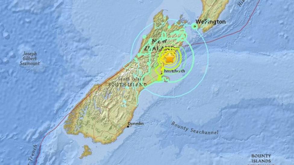 Nueva Zelanda registra un terremoto de 6,1 grado en la isla de Kermadec