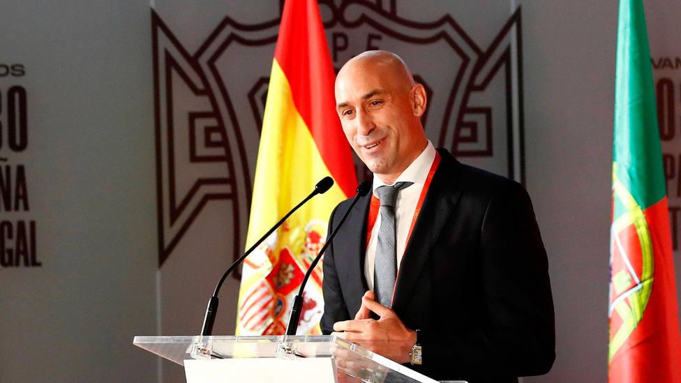 Luis Rubiales, presidente de la Federación Española de Fútbol. EFE