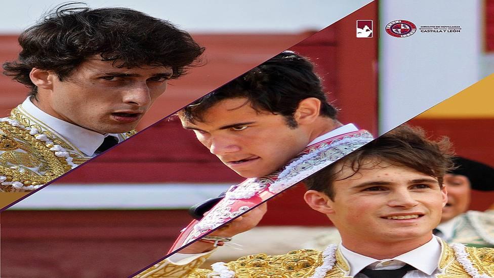 Antonio Grande, Pablo Jaramillo y Sergio Rodríguez, protagonistas en Medina del Campo