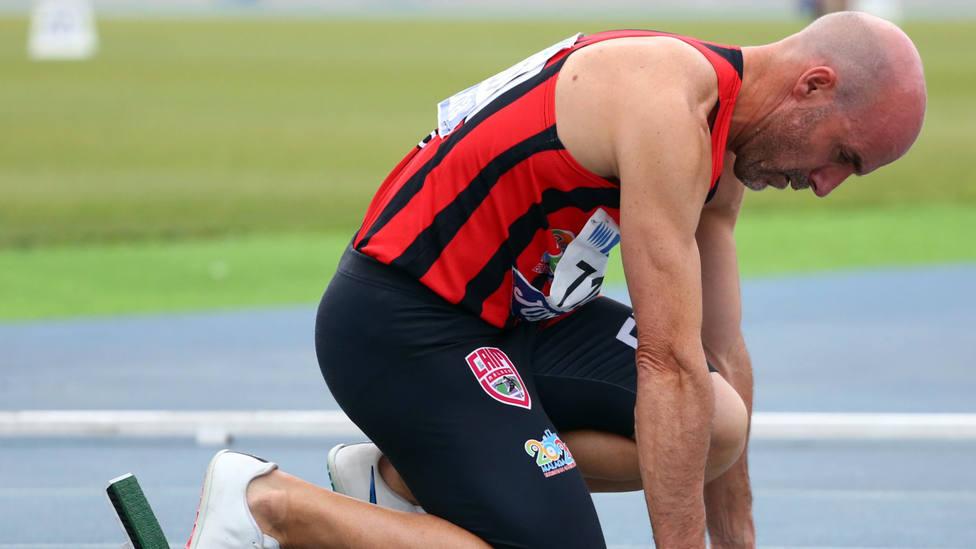 El atleta motrileño Juan Luis López Luiyi consiguió el récord del mundo en máster 50