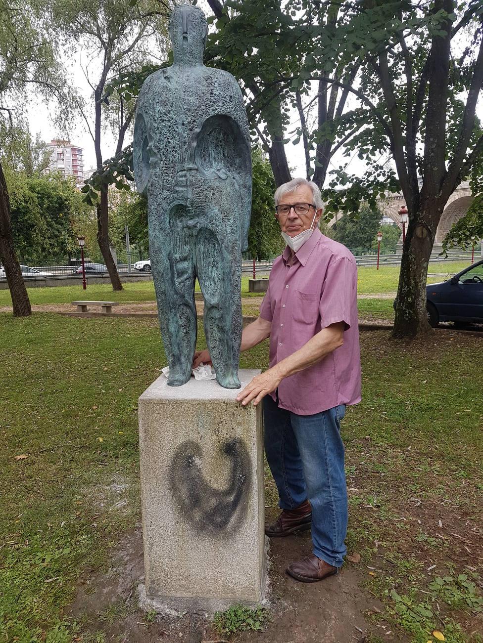 Escultura restaurada