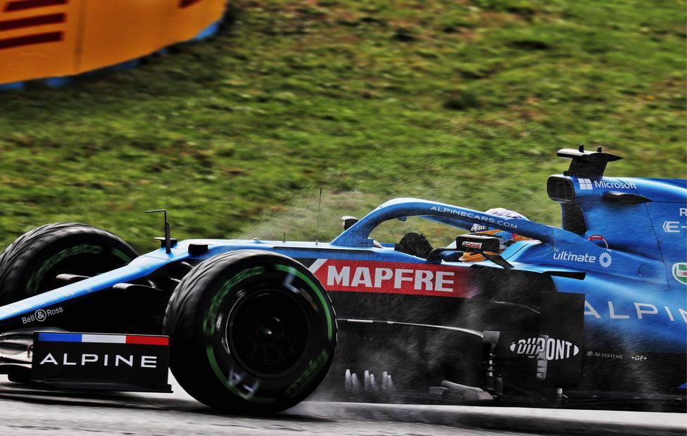 Alonso: Ha sido un sábado a pedir de boca
