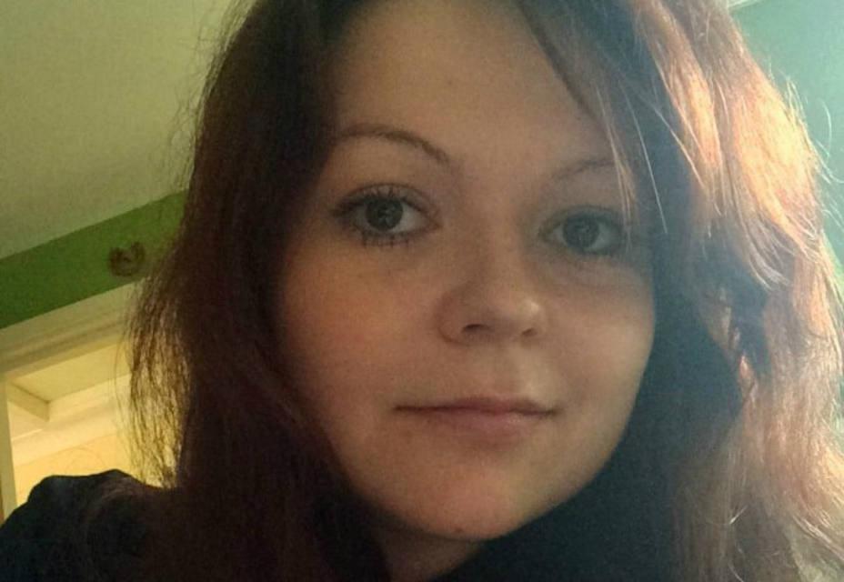 Yulia Skirpal, hija del espía ruso atacado en Inglaterra. REUTERS