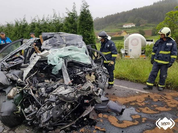 Fallece un gijonés de 45 años por un accidente en Carreño