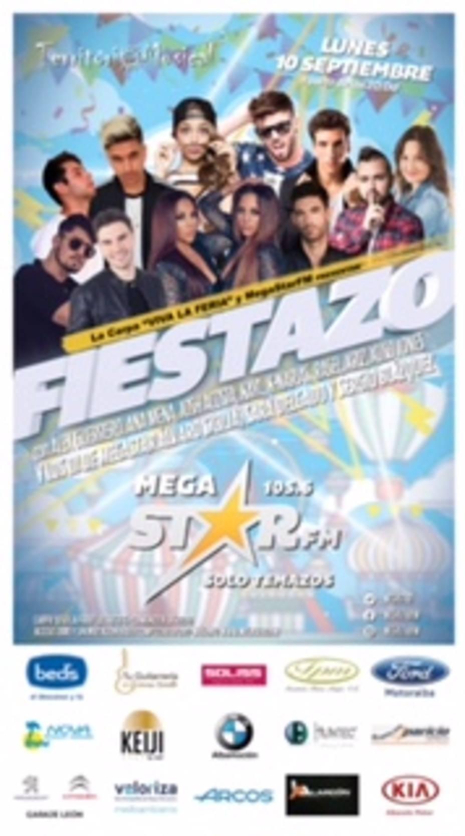 MegaStar la radio de los temazos , llega por primera vez Albacete