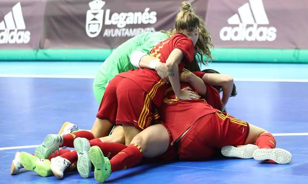 España fútbol sala femenino
