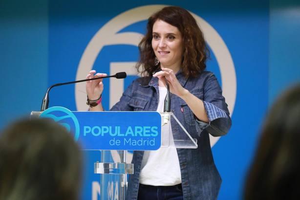 PP Madrid dice que con Ayuso arranca un proyecto cargado de ilusión y que con Almeida el futuro llega a Madrid
