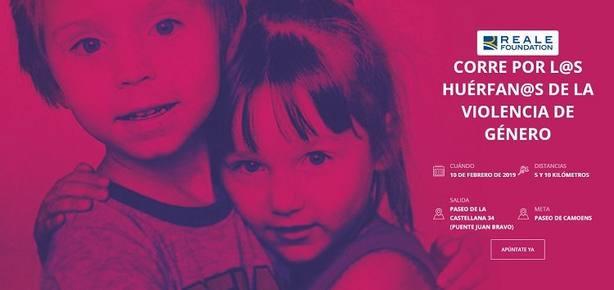Madrid acoge mañana la II carrera solidaria por los huérfanos de la violencia de género