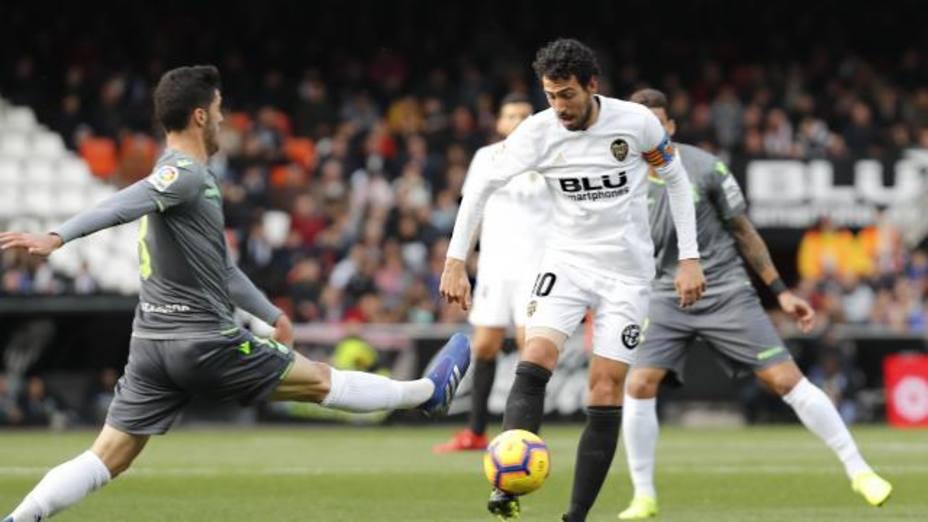 Parejo, en su partido ante la Real Sociedad (@LaLiga)