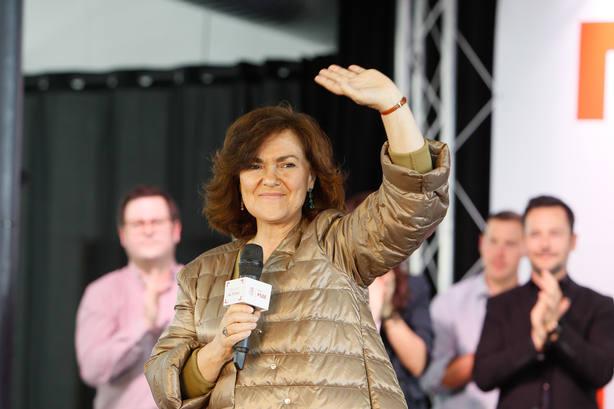 Carmen Calvo acusa a la derecha de no aceptar la Constitución: Estamos ante una involución democrática