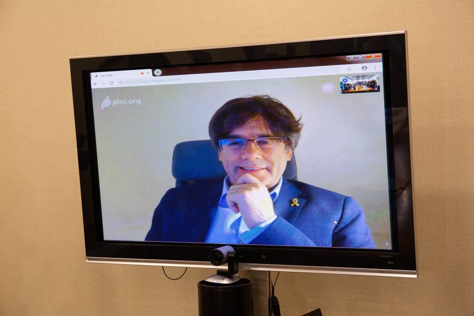 Puigdemont llama a movilizarse contra el juicio vergonzoso del Tribunal Supremo
