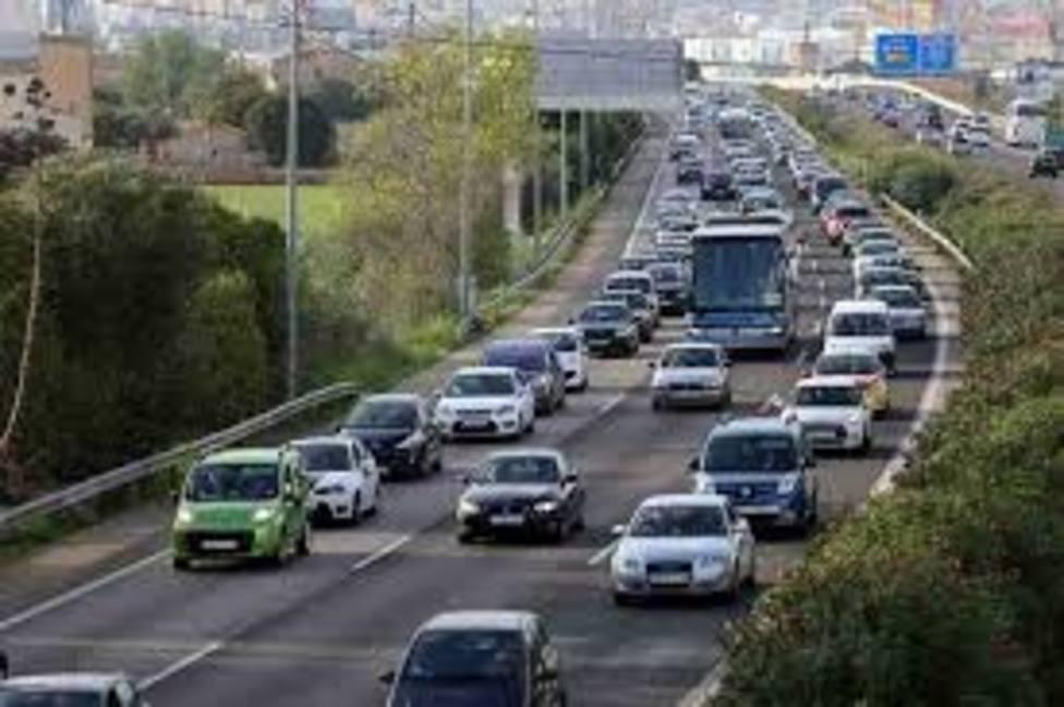 Nuevo colapso de tráfico en hora punta