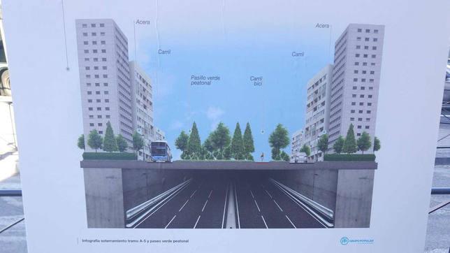 El PP propone un nuevo Madrid Río en el Paseo de Extremadura