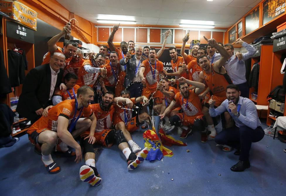 Póker de Eurocups para Valencia Basket