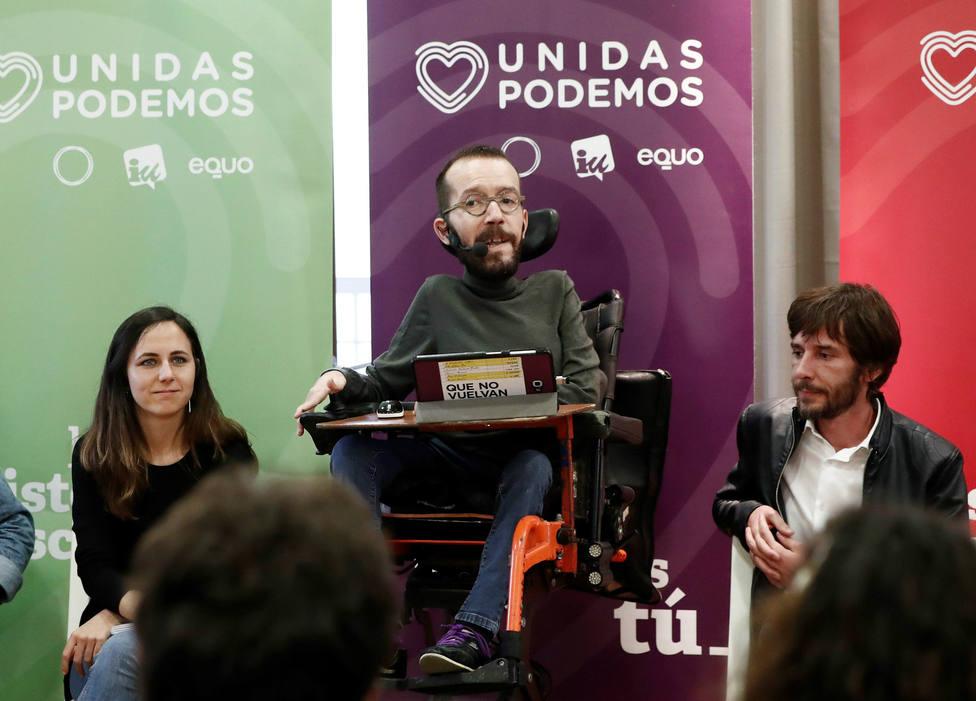 El pronóstico de Echenique para el próximo gobierno que no incluye a Podemos