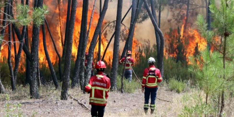 El gran incendio de Portugal está controlado después de 70 horas y arrasar más de 6.000 hectáreas