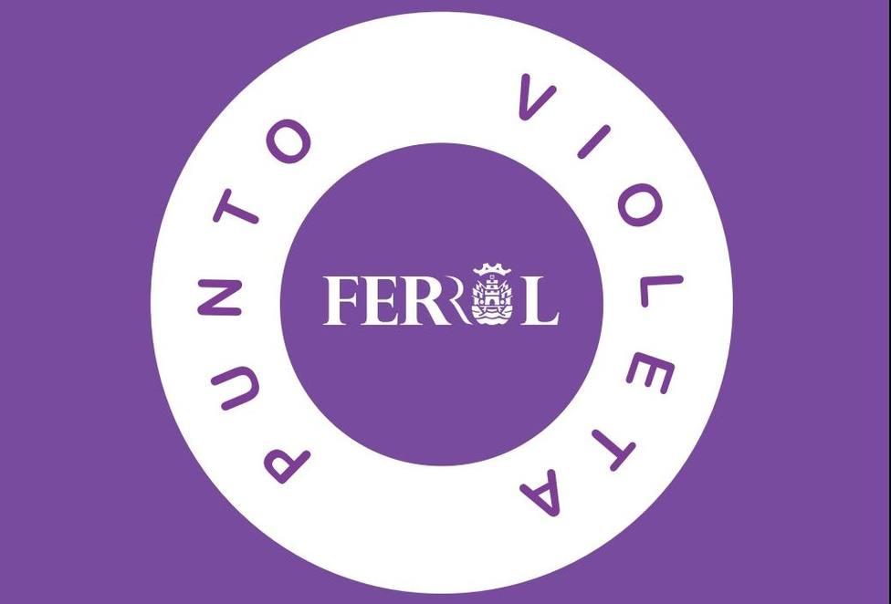 Imagen de la iniciativa Punto Violeta - FOTO: Concello de Ferrol