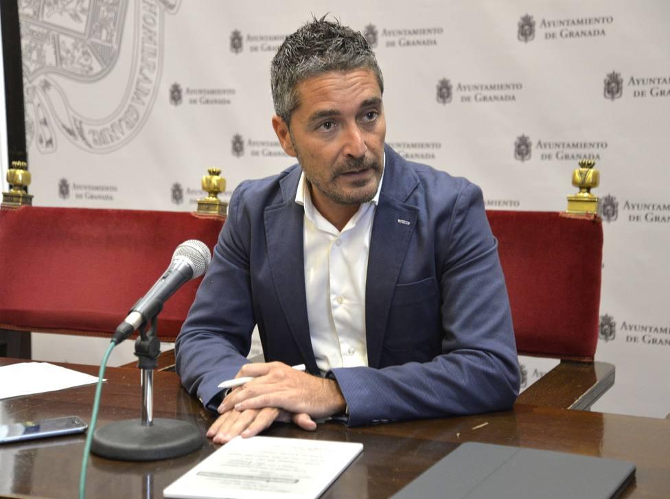 Manuel Olivares, concejal de empleo