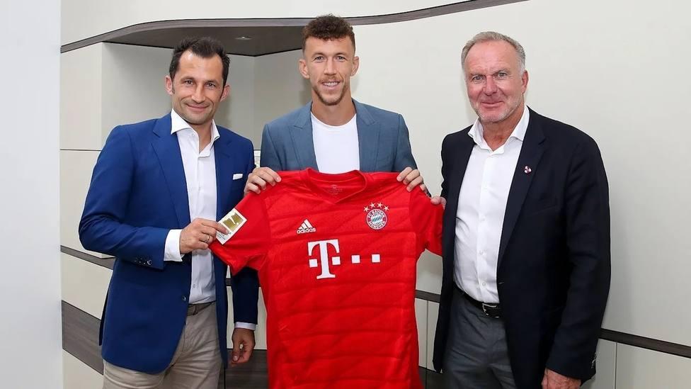 El croata Ivan Perisic jugará cedido en el Bayern de Múnich
