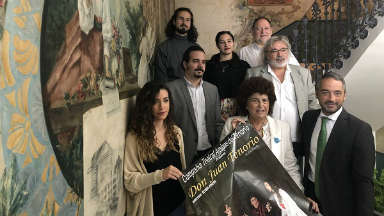 El Auditorio regional acoge el inicio de la gira del 'Don Juan Tenorio' de la Compañía Amigos del Tenorio
