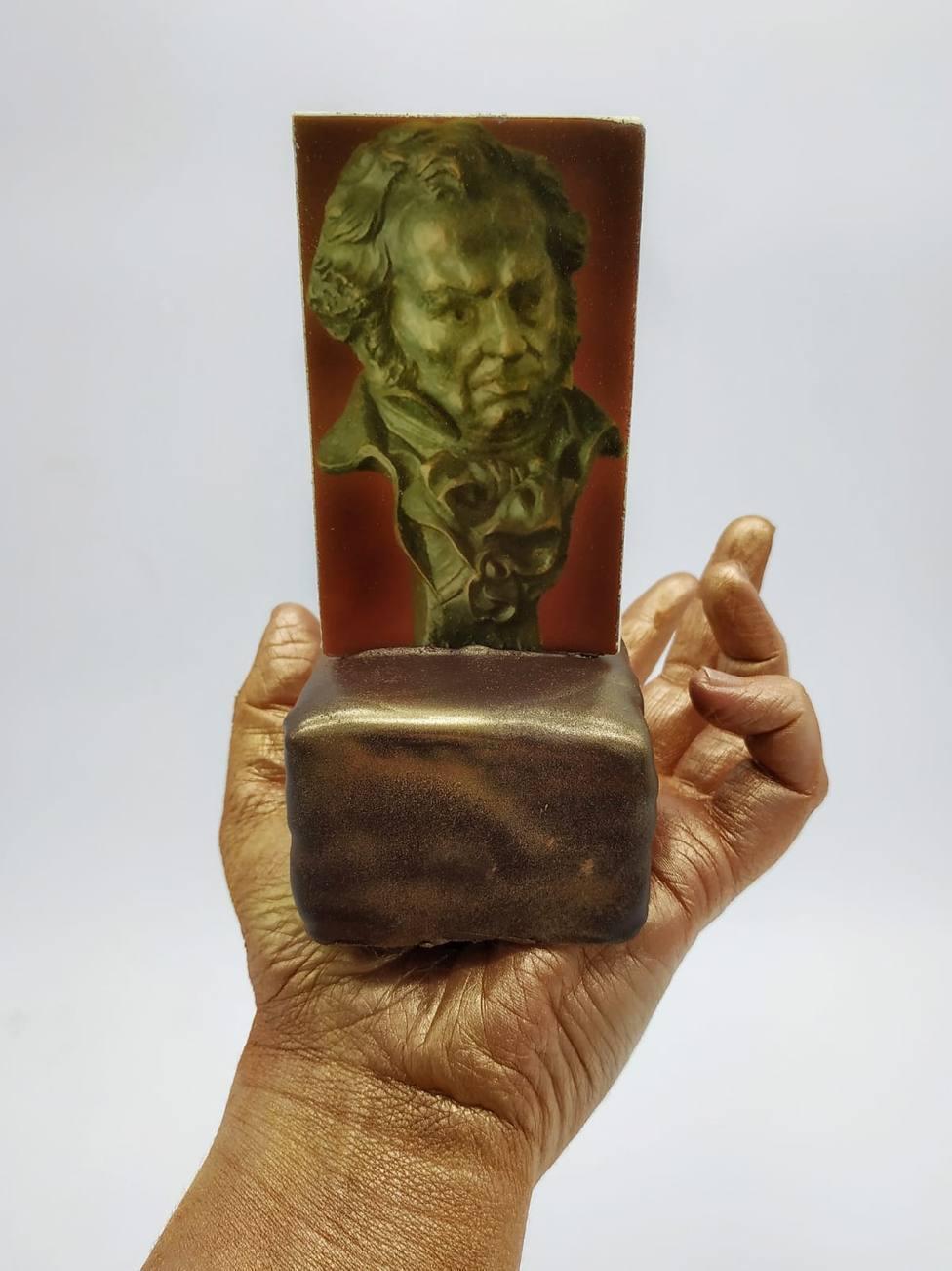 Así es el postre creado para rendir homenaje a Pepa Flores con motivo de los Goya en Málaga