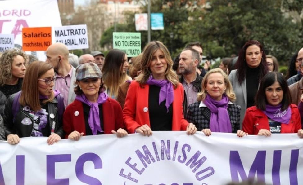 La manifestación del 8-M, ¿Origen de los contagios en el Gobierno y PSOE?
