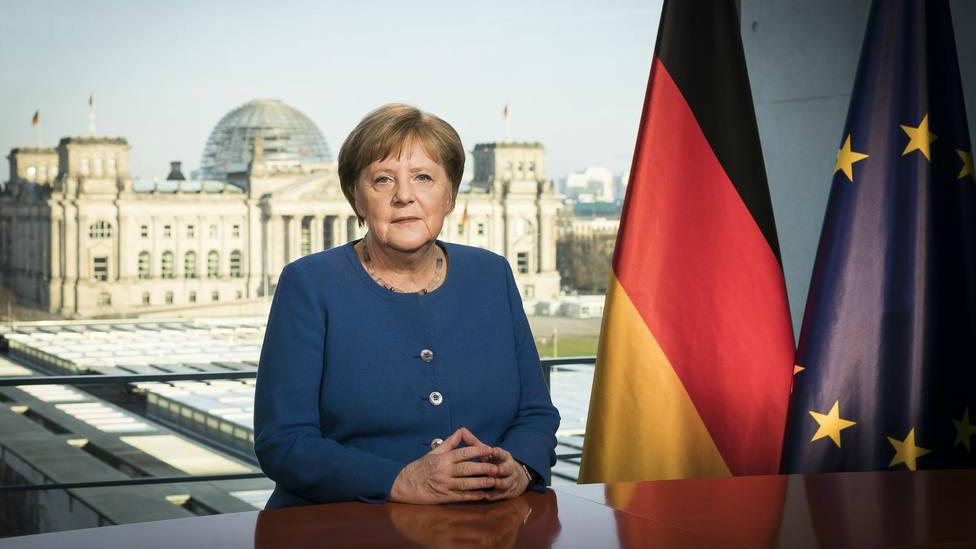 La segunda prueba diagnóstica realizada a la canciller alemana, Angela Merkel, para determinar si tiene corona