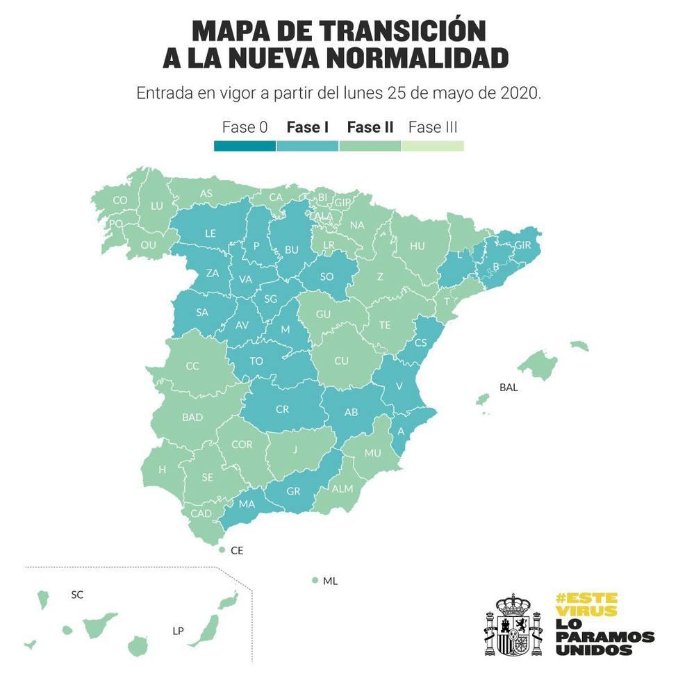 Sanidad anuncia que La Rioja entrará el lunes en la fase 2 de la desescalada