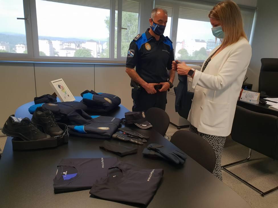 Lugo compra 91 uniformes completos para la Policía Local