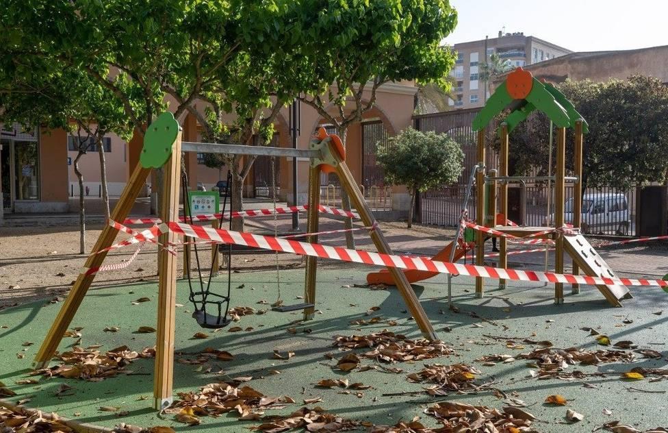 Las áreas de juego infantiles de Cartagena abrirán este miércoles bajo estrictas medidas de seguridad