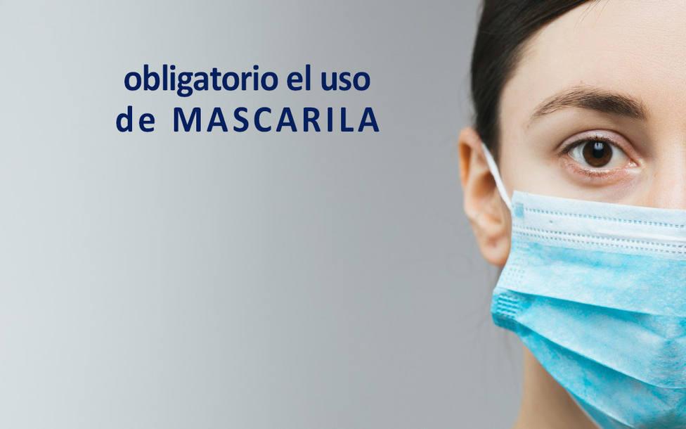 El uso de la mascarilla será obligatorio también en La Rioja a partir de la próxima semana