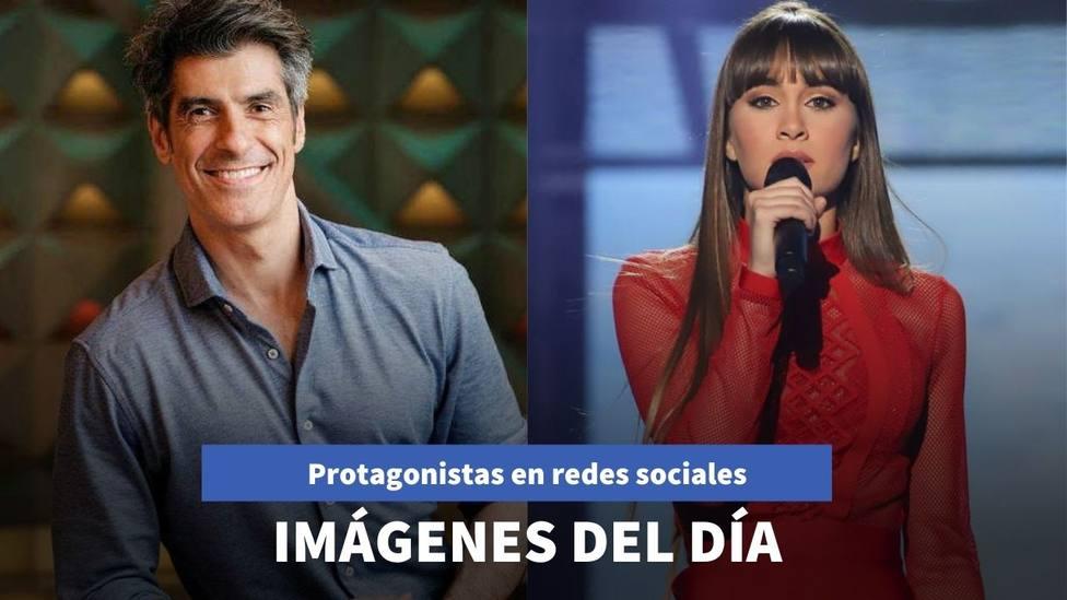 Imágenes del día: el mensaje que manda Jorge Fernández y el impresionante look de Aitana
